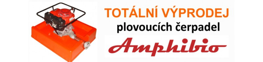 Výprodej Plovoucích čerpadel AMPHIBIO