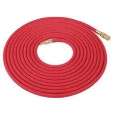 Vzduchová hadice 15m  červená - s rychlospojkou
