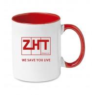 Porcelánový hrníček s logem ZHT 300 ml
