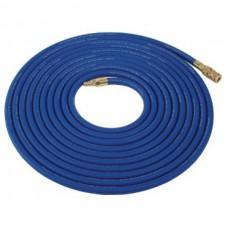 Vzduchová hadice 5m modrá - s rychlospojkou