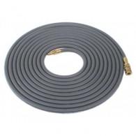 Vzduchová hadice 5m šedá - s rychlospojkou