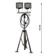 výsuvný osvětlovací stojan OS-03 KOMPLET DUO IP 44